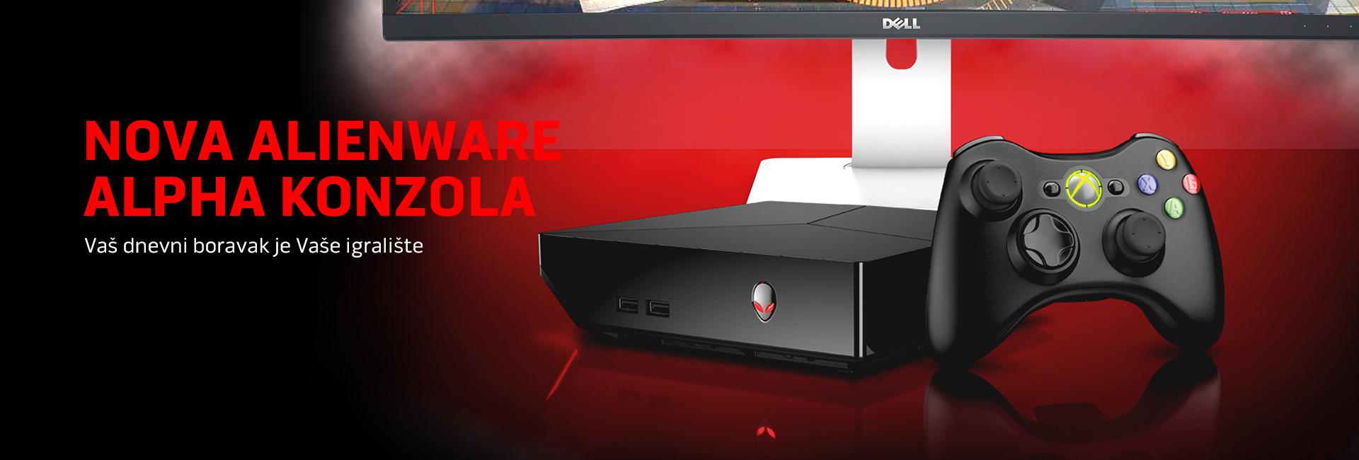 Nova Alienware alpha konzola