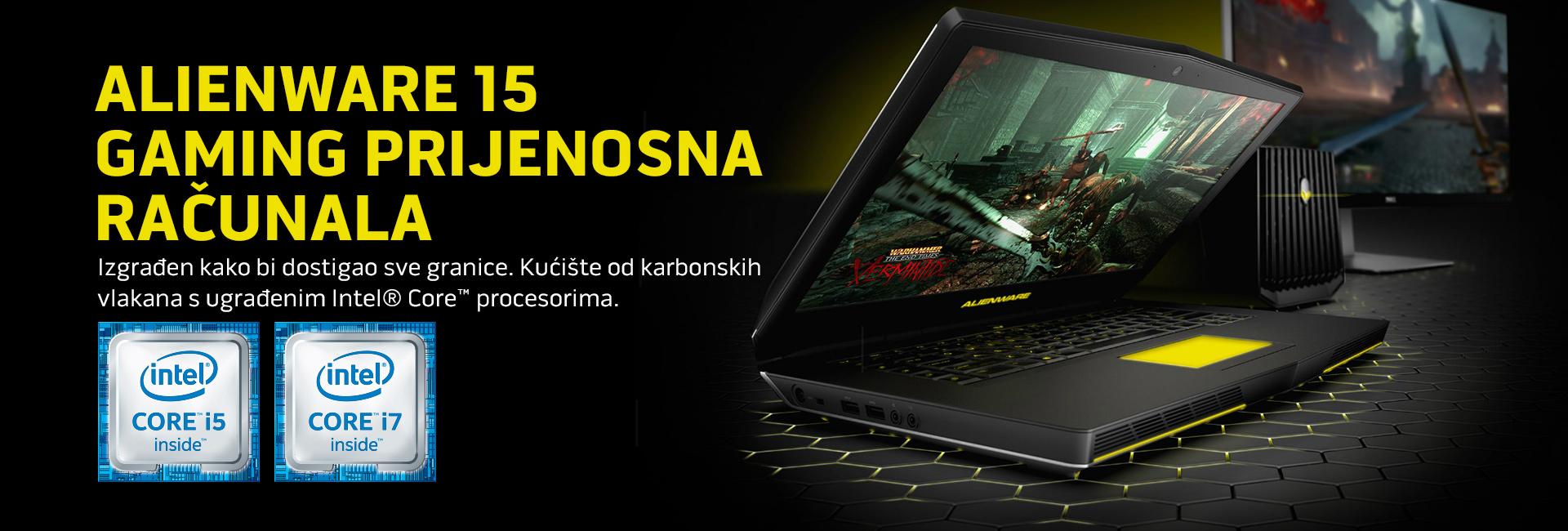 Alienware 15 gaming prijenosna računala